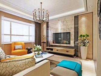 70平米现代简约风格客厅沙发效果图