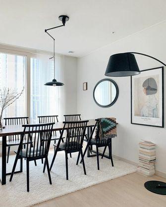 110平米三室两厅宜家风格餐厅装修图片大全