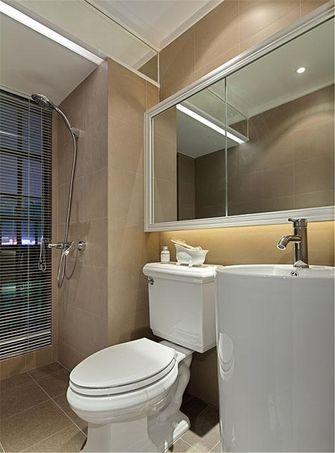 10-15万110平米三室五厅现代简约风格卫生间装修图片大全