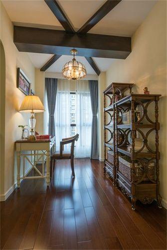 110平米三室两厅田园风格书房欣赏图