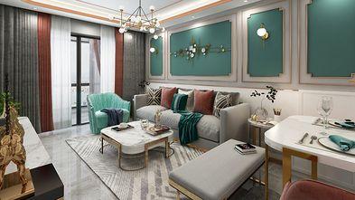 100平米复式宜家风格客厅装修效果图