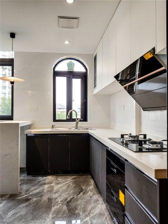 15-20万80平米现代简约风格厨房装修效果图