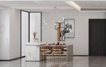 120平米三室三厅现代简约风格餐厅设计图