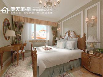70平米一室两厅田园风格卧室设计图