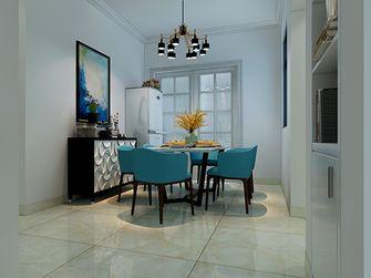 110平米四室两厅地中海风格餐厅装修图片大全