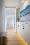 90平米三混搭风格走廊装修图片大全
