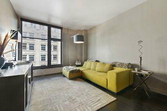 90平米三室一厅现代简约风格客厅图片大全