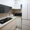 100平米现代简约风格厨房橱柜设计图