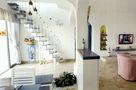 10-15万110平米三室一厅地中海风格楼梯效果图