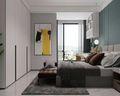 140平米公寓田园风格卧室装修效果图