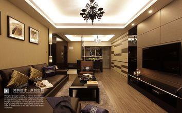 100平米现代简约风格客厅图片