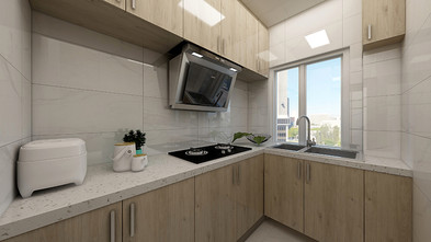 50平米公寓日式风格厨房装修案例