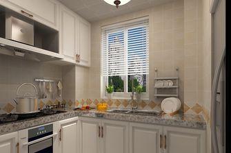 60平米一居室美式风格厨房图片大全