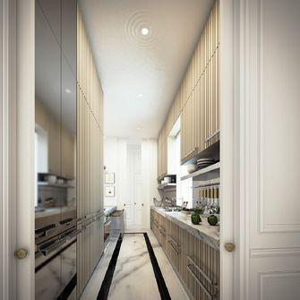 110平米新古典风格厨房装修图片大全
