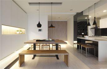 90平米三日式风格餐厅装修效果图