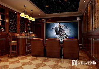140平米别墅新古典风格影音室图片大全