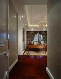 110平米三室一厅英伦风格玄关图片大全