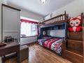 70平米田园风格儿童房设计图
