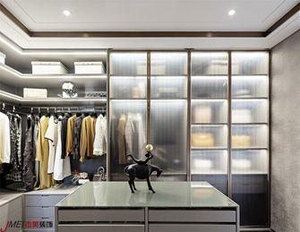 140平米复式现代简约风格衣帽间装修案例