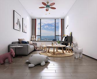 140平米四现代简约风格儿童房装修案例