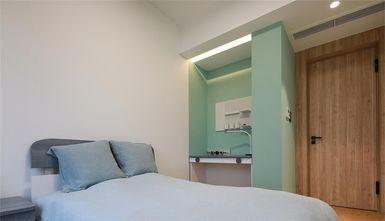 80平米三日式风格卧室设计图