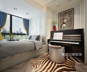 140平米复式混搭风格卧室图