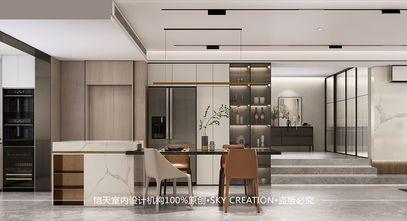 富裕型140平米四室一厅现代简约风格餐厅图