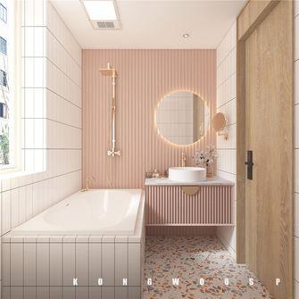 80平米日式风格卫生间效果图