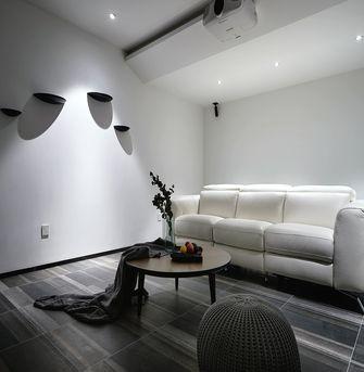 100平米三室一厅现代简约风格影音室图片大全