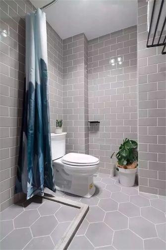 50平米公寓现代简约风格卫生间欣赏图