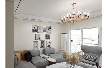 120平米三室两厅宜家风格客厅效果图