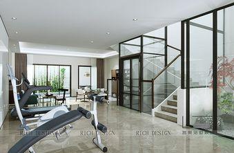 140平米别墅现代简约风格健身室效果图