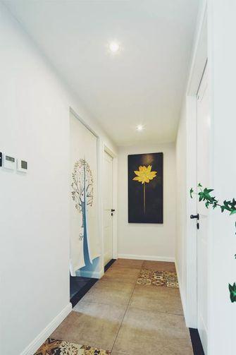 110平米三室两厅混搭风格玄关欣赏图