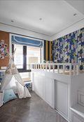 90平米三室两厅法式风格儿童房装修效果图