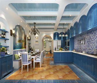 90平米地中海风格餐厅橱柜图片
