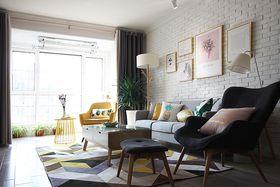 100平米三室一厅北欧风格客厅装修案例