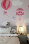 140平米复式现代简约风格儿童房设计图