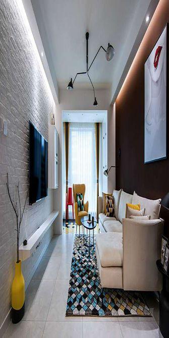 90平米四室一厅欧式风格客厅效果图