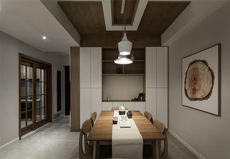 60平米一室两厅日式风格餐厅设计图