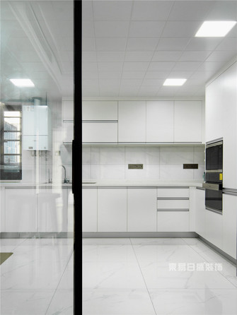 140平米四中式风格厨房设计图