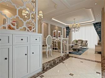 120平米四室一厅田园风格卧室图片大全