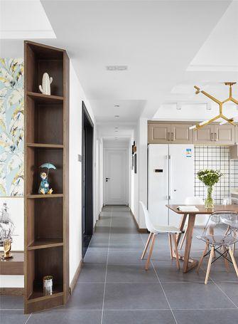 140平米四室一厅北欧风格餐厅装修图片大全