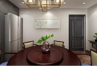 60平米公寓中式风格餐厅效果图