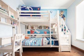 140平米复式美式风格儿童房效果图