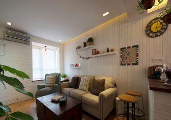70平米一居室混搭风格客厅图片