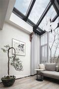 140平米别墅中式风格阳光房设计图