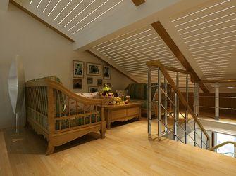 富裕型140平米四室三厅田园风格阁楼装修案例
