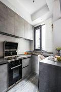 110平米三北欧风格厨房图片