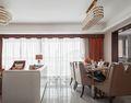 120平米三室两厅英伦风格餐厅设计图