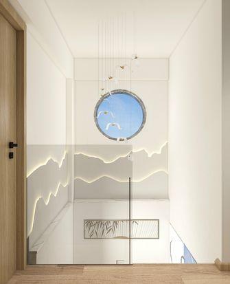 100平米三日式风格玄关设计图